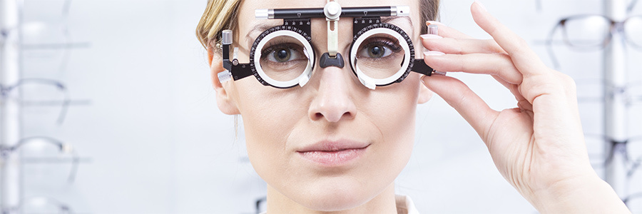 The first step: the eye exam