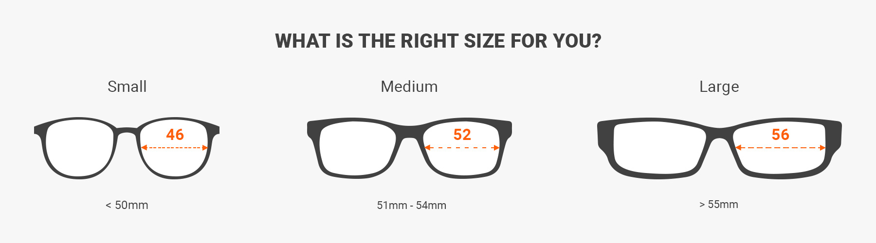 how to read glasses measurements - Measure glasses and sunglasses size with a ruler